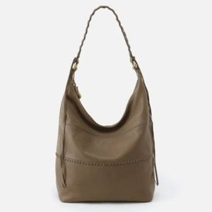 HOBO Entwine in Cream Soft Leather
